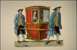 Sedan Chair Stories at Studley Royal