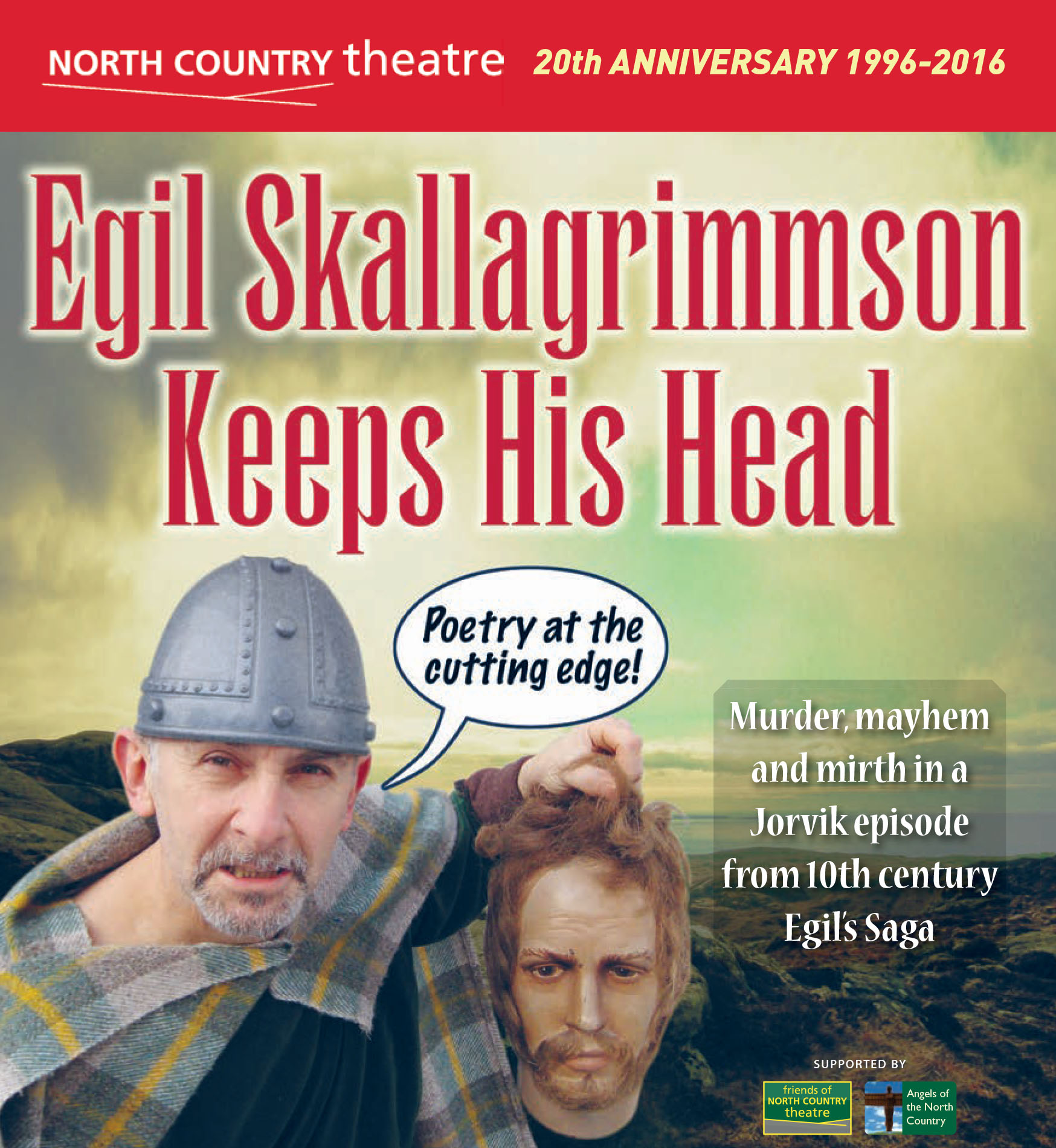 Egil Skallagrimmson Keeps His Head (2016)